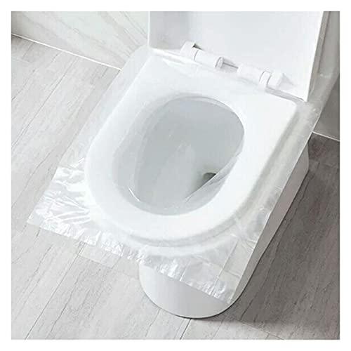 YANGPING HONGHUAER 150 Piezas portátiles Desechables Inodoro Cubierta de Asiento de Seguridad baño baño higiénico Papel Almohadilla Accesorios de baño