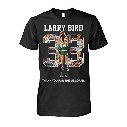 Boston cel.tics l-arry bi.rd 33 Thank You for The Memories Funny Class Vintage, t-Shirt, Hoodie, Crewneck Sweatshirt 25 Black