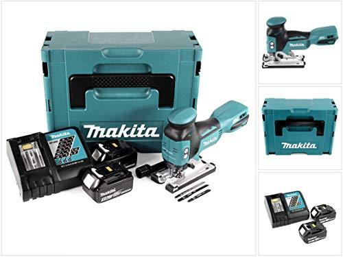Makita DJV 181 RTJ Akku Pendelhubstichsäge 18V Brushless + 2x Akku 5,0Ah + Ladegerät + Makpac
