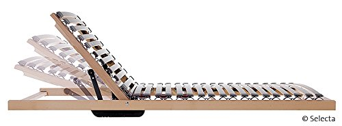 Selecta FR7 1-Matic Flachrahmen Lattenrost mit motorisch einstellbarem Rückenteil