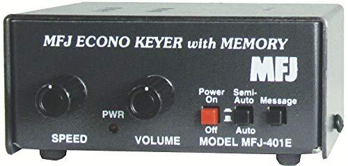MFJ-401E Economy Morse Code Keyer with Memory for Iambic Paddles