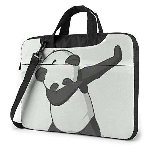Cool Pan-da Unisex Laptop Bag Messenger Shoulder Bag for Computer Briefcase Carrying Sleeve