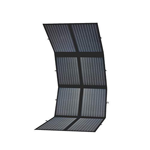 enjoysolar® faltbare Solartasche Monokristallin Panel (200W mit MPPT Tracer3906BP)