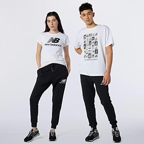 New Balance Pantalon Slim Essential Stack Logo