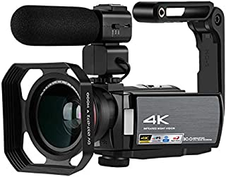 FairOnly 4K Full HD Digital Camera HD DV WiFi MIC Camera