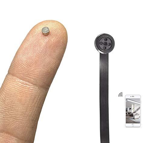 Pinga Nano Imán + Cámara Botón Espía WiFi