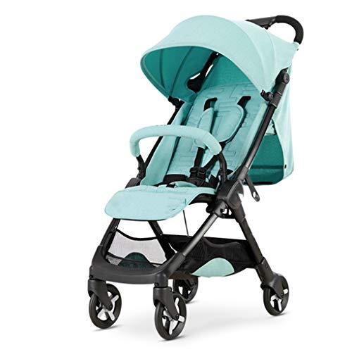 Carritos y sillas de Paseo Cochecito de bebé Ligero Plegable Pequeño Puede...