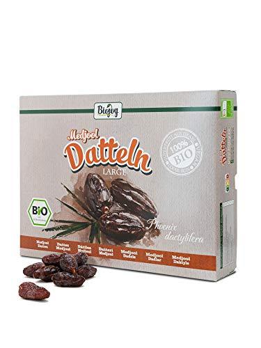 Medjool dattes Bio de l'Israel, bio de qualité premium grand (5 kg)