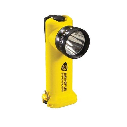 Streamlight Survivor LED Alkaline MSHA Flashlight, Yellow