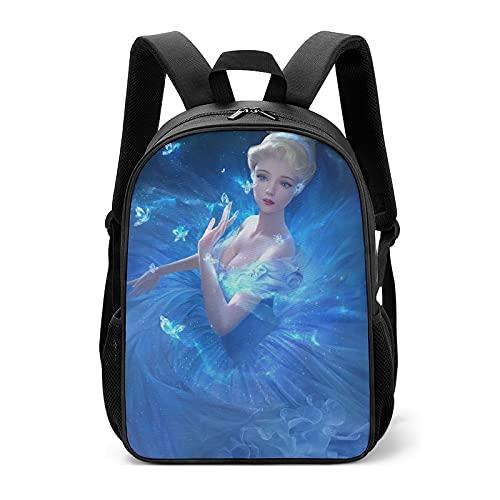 Frozen Girl Princess Dream - Borse scolastiche per bambini per studenti della scuola primaria per alleviare il carico della protezione della colonna vertebrale, per ragazzi e ragazze