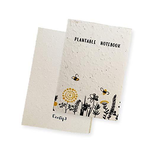Ecolif3 1 Pflanzbare Samenkarten Weihnachten (Notebook)