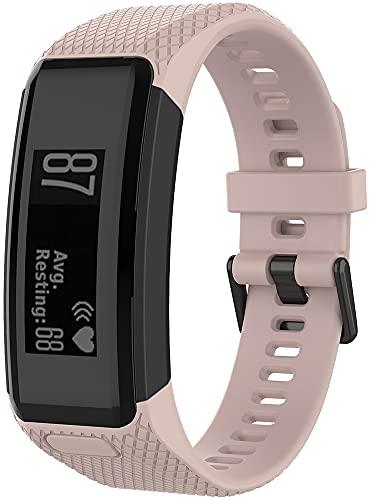 Gransho Correa de Reloj Compatible con Garmin Vivosmart HR, Silicona Banda de Reemplazo Pulsera (Pattern 6)