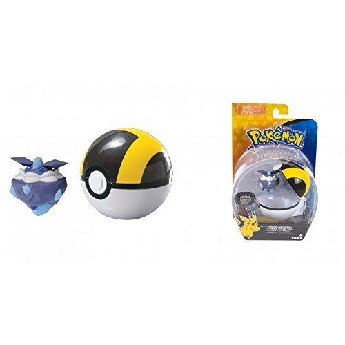 Lively Moments Pokemon - Pokeball pokemonfigur Rocara IM hyperball/Carbink con Ultra Palla / Strassie