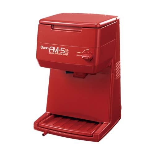 池永鉄工 バラ氷専用氷削機 FM-5S レッド 電動式ギヤー駆動