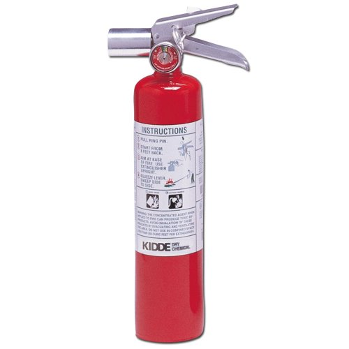 Kidde 466727 Halotron Fire Extinguisher, 2-1/2-Pound, 2BC
