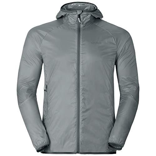 Odlo Herren Jacket WISP Jacke, Silver, L
