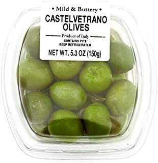 Fresh Pack Castelvetrano Olive (with Pits), 5.3 oz