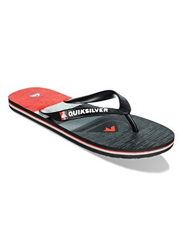 Quiksilver - Molokai Slater - EQYL100032XSKR - Couleur: Noir-Rouge-Gris - Pointure: 40.0