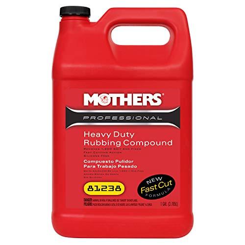 Mothers 81238 Professional Heavy Duty Rubbing Compound, 1 Gallon