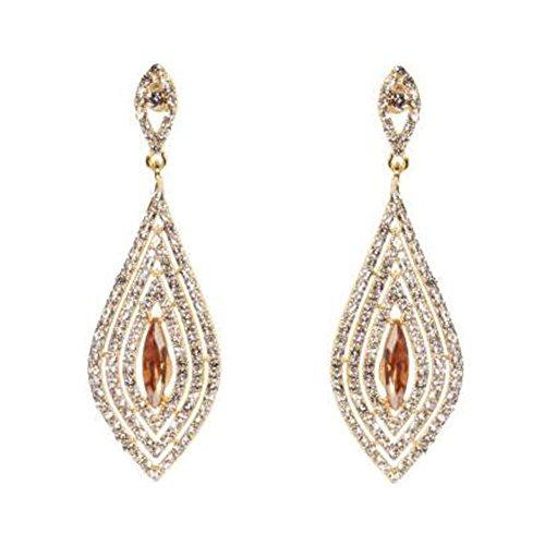 Elegant Dangle Earrings Tassel Earrings Ears Decoration For Ladies, No.6
