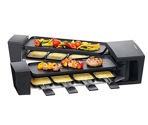Trisa Electronics Raclette Vario Flex, Schwarz