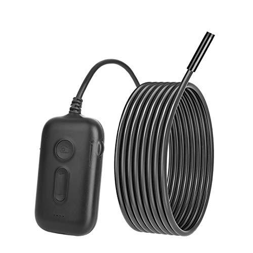 WangQianNan Endoscopio WiFi endoscopio cámara 3.9mm Lente HD1080P Inspección boroscopio rígido Cable IP68 a Prueba de Agua for teléfonos iPhone Android para Detector de tubería de alcantarillado,