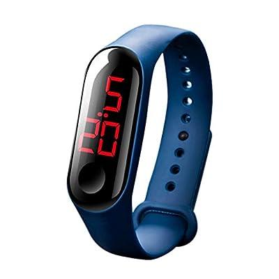 LED Electronic Sports Luminous Sensor Watches S...