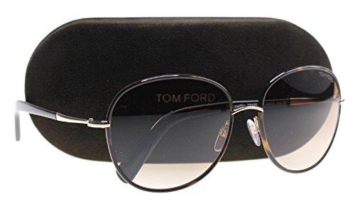 Tom Ford Unisex-Erwachsene FT0498 52F 59 Sonnenbrille, Braun (Avana Scura/Marrone Grad)