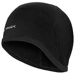 VAUDE Bike Cap Helm-Unterziehmütze, black uni, S, 032790515200