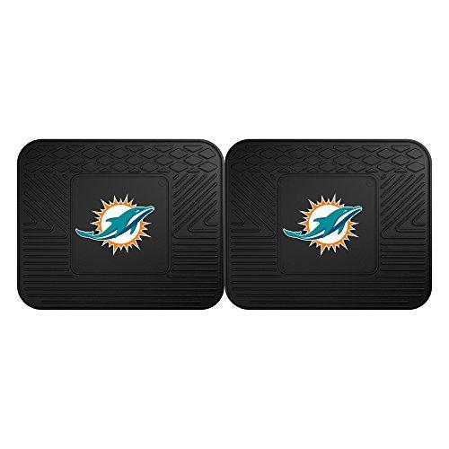 FANMATS 12314 NFL - Miami Dolphins Utility Mat - 2 Piece,Team Color,14