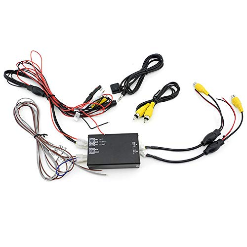 iNewcow Car Multiple Cameras Switch Control Box 2 Way Channel for...