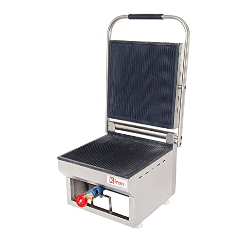 Kiran Gas Sandwich Griller- 4 Slice Gas Commercial Sandwich Maker Grill