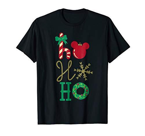 Disney Mickey Icon Ho Ho Ho Holiday T-Shirt