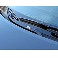 4PCSカーウィンドウワイパーデカールとステッカー、VWゴルフ用4 7 5 6 MK2 MK3 MK4 MK5 MK6 MK7 MK8、自動装飾ステッカー