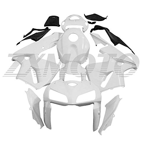 ZXMOTO Unpainted Motorcycle Fairing Kit for 2005 2006 Honda CBR 600RR F5 ABS Plastic Full Body Fairings