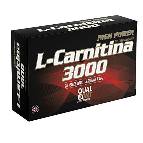 Vloeibaar L-carnitine met vitamine C – carnitine voor gewichtsverlies door sportieve activiteiten – natuurlijke antioxidanten en vetverbranding – 20 ampullen (citroenaroma)