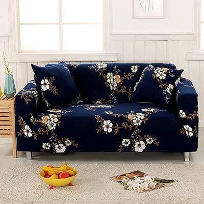 ASCV Conjuntos de sofás de Tela elástica Funda de sofá Universal con Todo Incluido Toalla de Cubierta Cojín de sofá de Cuero de Verano Europeo A8 3 plazas