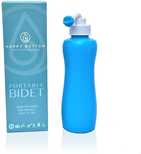Happy Bottom Washer a Portable Bidet - You'll Feel So Clean. Handheld Portable Bidet Peri Bottle for...