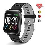 Polywell Fitness Armbanduhr mit Herzfrequenz