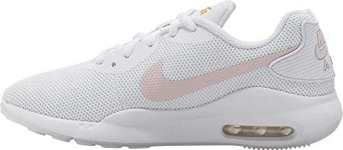 Nike Zapatillas deportivas Air Max Oketo para mujer, color Blanco, talla 44.5 EU