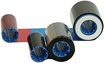 Zebra 800015-448 True Colours YMCKOK Color Ribbon for iSeries Card Printers, P420i, P430i and P520i. 170 prints.