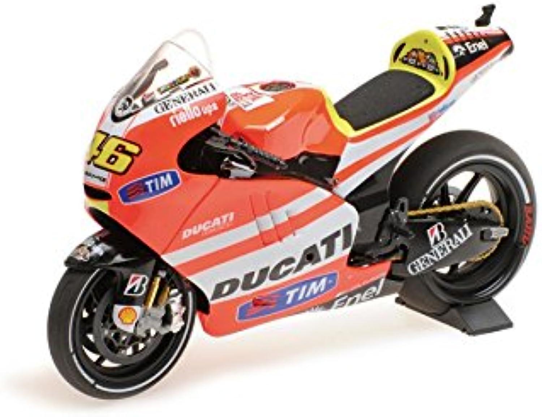 Minichamps 1221110461  12Ducati GP 11,1–Valentino Rossi–MotoGP 2011