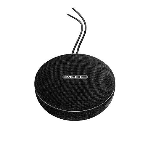 1MORE Bluetooth Lautsprecher, Tragbarer kabelloser und kabelgebundener Lautsprecher, bis zu 35W Stereo Sound, Bluetooth 4.2, AUX 3.5, IPX4 wasserdicht, 12 Stunden Laufzeit.