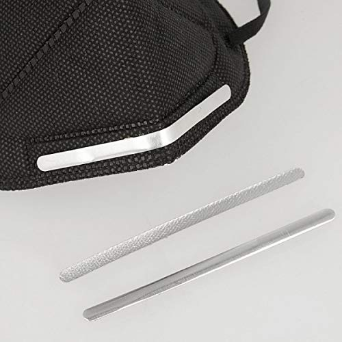 PST Nasenbügel zum Aufbügeln, 90 x 5 mm, Aluminium, 20 Stück