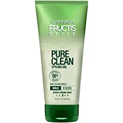 24 HOUR CLEAN HOLD STYLING GEL: This naturally-derived styling gel offers a 24-hour, extra strong, clean hold & pure performance all day long. Contains no silicone, parabens or dyes. NATURAL FORMULA: This 98% naturally-derived hair styling gel featur...