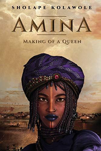 Amina fazendo de uma rainha