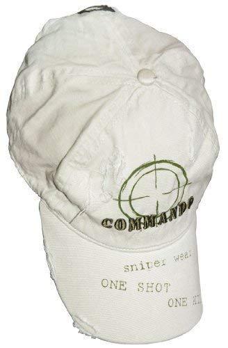 Vintage sniper casquette, look usé avec broderie de qualité