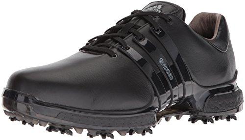 adidas Men's TOUR360 Boost 2.0 Golf Shoe, Core Black, 7.5 UK