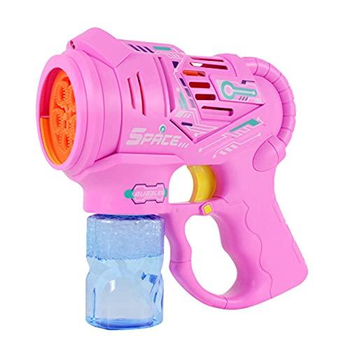 LINANNAN Burbuja Pistolas con Botellas de Botellas para niños, Fabricante de Burbujas,