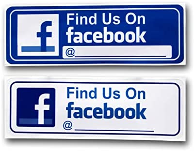 Like us on facebook sign for business